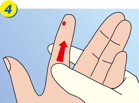 Safety Lancet Step 4